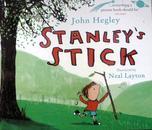英文原版    少儿绘本故事    Stanley's Stick   斯坦利的棍子