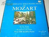 RECORDS  MOZART  PIANO  MUSIC   莫扎特的钢琴音乐唱片  <<唱片 1~12   12张>>