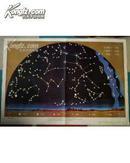 小学课本自然教学挂图:宇宙(一)冬夜星空(北天 南天) 春夜星空(北天 南天) 夏夜星空 (北天 南天) 秋夜星空(北天 南天)