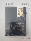 德国原版 德文尼采全集 Friedrich Nietzsche - Gesammelte Werke