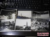 银盐纸 杭州等南部地区老照片6张 石塔鱼乐园寺庙等 琼蕊斋 老照片清供(五)