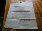 6023:73年上海纺织工业局工代会《一九七三年学习大庆经验加强班组建设的要求》通告一张