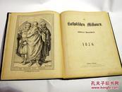 1875/1876年度德文宗教杂志《天主教传道》/ 含关于中国传教报道与木刻插图 DIE KATHOLISCHEN MISSIONEN ILLUSTRIERTE MONATSCHRIFT