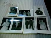 文革老相片[毛主席和林彪三张毛主席四张]共7张合售