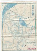 地图一张:《南京市区旅社交通图》【品如图】