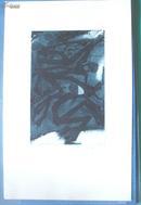 藏书票:《黑夜中舞蹈的死神们》美国Alexader Serebryang 蚀刻版 有签名
