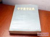 中学数学词典