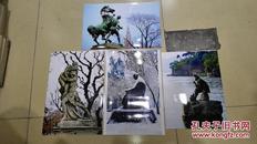 仪靖远(摄影名家)作品及上款作品之2   摄影作品之二《风景四张合售》 保真迹