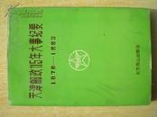 42505《天津邮政115年大事纪要》32开.精装本.1995年.30元.