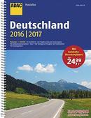 德国原版 德文 德语 德国地图集 ADAC MaxiAtlas Deutschland 2016/2017