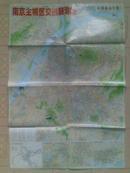 南京主城区交通旅游图