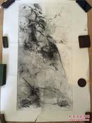 【铁牍精舍】【名家版画】著名版画家张岚军版画作品一件