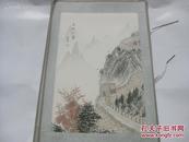 刘萍作  80年代  手绘国画一幅 长城红叶   尺寸30/20厘米