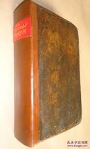 1813年COMMON PRAYER:《圣经:公祷书》 全小牛皮古董书  多张绝美原品古铜版画插图 手写出生纪录 送礼佳品