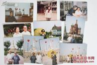 ZY041717传-奇-特-工-沈-安-娜旧藏:沈-安-娜 七十年代摄于延-安宝塔山 黑白照片五枚