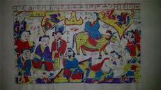 杨家埠木版年画版画大全之043*民子山
