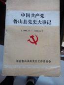 中国共产党鲁山县党史大事记(1949.10----1990.12)