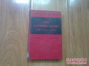 英文原版旧书   THE SUPREME COURT (最高法院) 馆藏有章印有英文的地方涂有墨迹  近九品