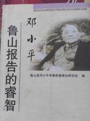 邓小平鲁山报告的睿智