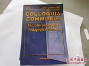 COLLOQUIA COMMUNIA:FILOZOFIA PEDAGOGICE PEDAGOGIKA FILOZOFII【775】