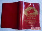 老日记本 中国共产党抚顺市物资局第一次党员代表大会