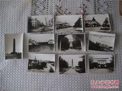 满洲国 民国 哈尔滨照片一组 10张 喇嘛台 松花江 中央大街 地段街 俄国墓地等景点
