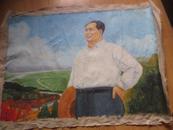 李瑞年 毛主席文革油画