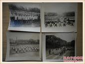 文革时期黑白老照片:武重子弟学校春战备运动会(时代特色浓厚) 48张补图勿拍