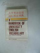 大学英语常用词汇用法词典