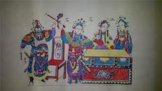 杨家埠木版年画版画大全之121*戏曲故事二进宫