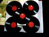 老黑胶木唱片京剧[蔡文姬]4张1--8面和7-8面张共5张唱片合售