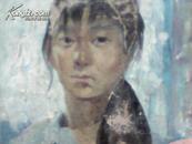 少女肖像(油畫)