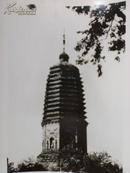 新华社照片,1985年:辽阳白塔,辽宁省辽阳市白塔公园内,15.5*20.5