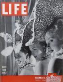 【包邮】1947年美国《生活》杂志  Life Magazine, Dec 15,1947