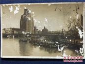 【铁牍精舍】【精品老照片】民国原照《苏州河、百老汇、外白渡桥》