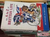万叶堂 英文原版 an a to z british life -adrian room dictionary of britain 英国词典