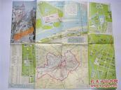 地图:1986年哈尔滨交通图【6开】