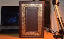 约翰·弥尔顿作品集,含《诗集》《力士参孙》《失乐园》《论出版自由》超豪华四合一版,含27张水彩图画,富兰克林1978年真皮精装限量版三面镀金 英文版 现货包邮