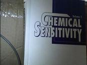 【英文原版】CHEMICAL SENSITIVITY VOLUME 1 药剂敏感性