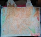 民国地图1张:《辽宁》【从《申报》1939年出版的《中国分省地图》中拆下来的,有如图污迹】