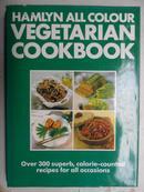 英文原版西餐食谱:HAMLYN ALL COLOUR VEGETARIAN COOKBOOK(素食食谱)