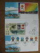 香港回归型张邮票首日封尾日封和香港经典邮票系列第十辑小型张首日封回归前后首尾交替封[三个封同售]香港邮政发行