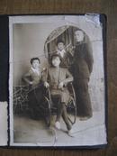 老照片:满洲国照片(全家福)+五六十年代家庭合影