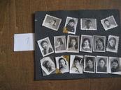 老照片:五六十年代人物标准像照片(16张)