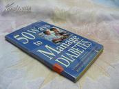 50 Ways to Manage Diabetes【管控糖尿病的50种方法,吉恩·贝特查特,英文原版】