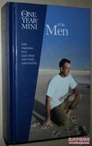 ☆英文原版书 The One Year Mini for Men Gilbert Beers Ron Beers