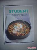 (16开精装外文彩图原版菜谱)STUDENT 150INSPIPED IDEAS FOR EVERYDAY COOKING 学生150种日常的烹饪理念