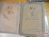 原始抗战文献香港《立报》民国二十七年四月,六月共60份 合订本2册
