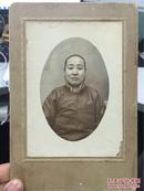 【铁牍精舍】【精品老照片】民国时期《妇女半身像》,很有气质,似斯琴高娃