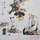 ★【名家珍藏】★中国画院研究会会员@张@松@平水墨精品斗方,他的作品曾在2011年11月北京中嘉国际秋拍卖出8万元佳绩,被业界称为最极具升值潜力的当代中青年画家。